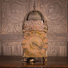 17th century Lantern clock, Marhamchurch antiques