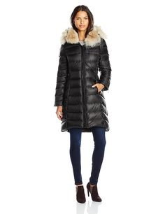 Dawn Levy Bee Down Coat with Fur Hood ** This is an Amazon Affiliate link. Want additional info? Click on the image.
