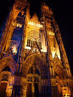 La Cathédrale Saint-Gatien de Tours, France
