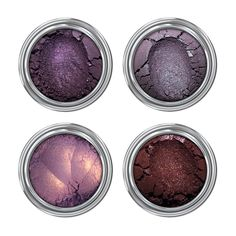 "Bestselling Mineral Eyeshadow sets are back in stock! ""We are those weirdos, mister."" Unique purples, plus magical duochromes, equal the perfect shades for conjuring up"