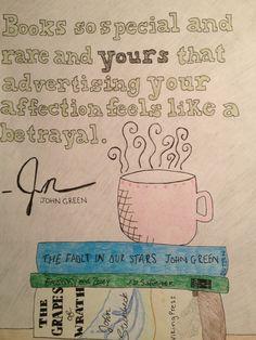 John Green on books!