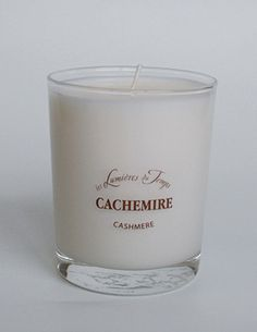 Scented Candles - Les Lumieres du Temps - Cashmere.Les Lumières du Temps - Lights of Time (brand is based in East of France). Scented Candles 180 gr. 100% vegetable wax in a recyclable glass. Burning time of 60 hours. Contact: Tel: +612.93275413 or E:info@masterslave.com.au , Shop Online Now: www.masterslave.com.au