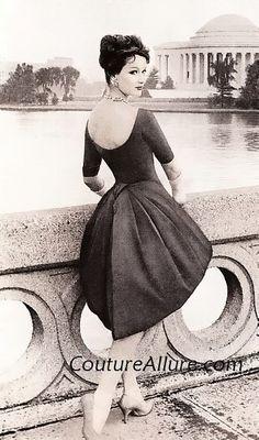 Jo Copeland 1958! Women's vintage fashion photography photo image 50s