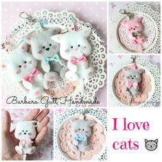 Barbara Handmade...: Kochamy koty /We love cats