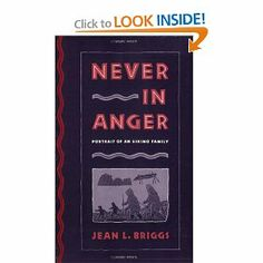 Never in Anger: Portrait of an Eskimo Family [Paperback]  Jean L. Briggs (Author)