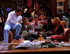 """En realidad... ¡Qué pandilla tan divertida!   27 fotos de la serie """"Friends"""" como amigos en la vida real"""