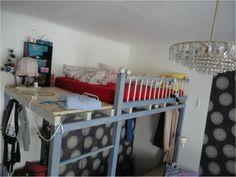 Wohnen - Schwarzes Brett ÖH Bunk Beds, Loft, Furniture, Home Decor, Clipboard Wall, Boards, Homes, Decoration Home, Loft Beds