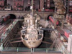 Résultats de recherche d'images pour « in the dry-dock the flower class corvette »