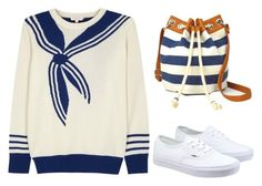 """""""The Sailor"""" by fashionconnery ❤ liked on Polyvore featuring Demylee, Arizona, Vans, fashionset and polyvoreeditorial"""