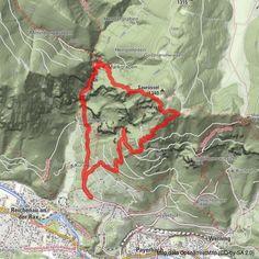 Auf den Aussichtsbalkon von Reichenau - BERGFEX - Wanderung - Tour Niederösterreich Google Earth, Snow Mountain, Tours