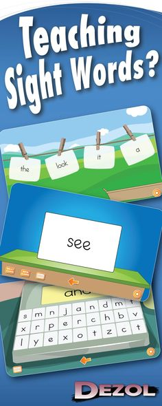 Dezol has games to learn the alphabet, letter sounds, sight words, and many other skills essential to reading. You can use Dezol on your student workstations or your interactive whiteboard (SMART Board). With almost a hundred free games to choose from, y Teaching Sight Words, Sight Word Practice, Sight Word Activities, Literacy Activities, Educational Activities, Teaching Reading, Fun Learning, Teaching Ideas, Site Words