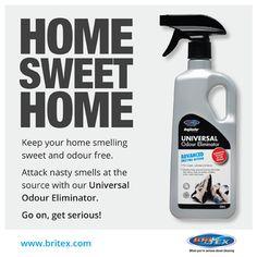 Eliminate bad smells! Get our Universal Odour Eliminator here: