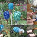 Diy Glass Yard Art Design 23