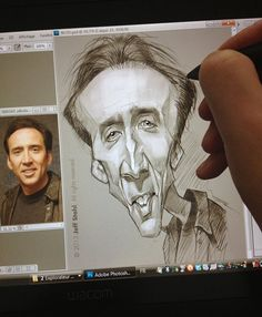 Sketching a cage.