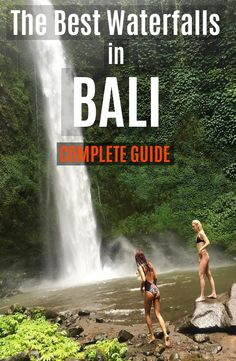 The best waterfalls in Bali