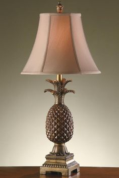 Lamps A Pair Hotel Style 3-way Ornate Ceramic Tropical Themed Pineapple Lamps Antiques