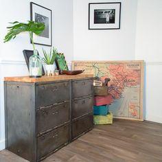 Faire de la récup, c'est tendance ! Nous vous proposons ce kit pour rénover et donner une touche industrielle à vos meubles.