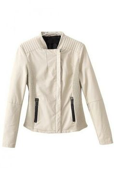 Fasional PU leather jacket