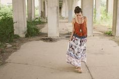 I've developed quite a fondness for prairie skirts of all sorts. This project…