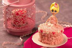 Cupcake de boneca Dr Otker
