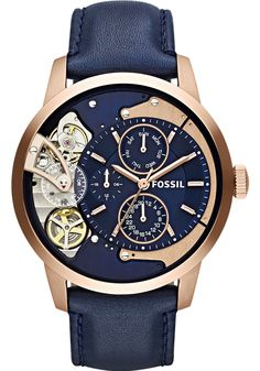 Fossil ME1138 Townsman Twist Rose Gold
