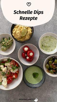 Schnelle Dips sind das, was ein Essen erst so richtig köstlich machen. Sei es beim Grillen, bei der Brotzeit oder zum Gemüse am Abend. Von leckeren Dips kann man einfach nicht genug haben. Wir verraten Dir 3 leckere Rezepte. Vegan, Tacos, Mexican, Ethnic Recipes, Food, Crickets, Amazing, Food And Drinks, Essen