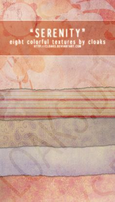 Serenity Texture Pack by cloaks.deviantart.com on @deviantART