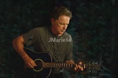 """Bruce Greenwood on Guitar  Bruce Greenwood playing guitar on a summer evening. Inspired by the film """"And Now a Word From Our Sponsor.""""  This was a touching and very beautiful piece of music in this film. I have to say that if I had a neighbor who sat out on his terrace and played such beautiful music that I would leave my windows open all night to listen to him play. This scene will truly touch your heart and soul and stay with you for a long time."""