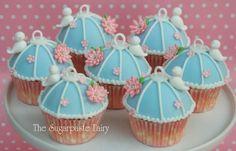Birdcage cupcakes Cake by SugarpasteFairy Moist Cupcakes, Fun Cupcakes, Cupcake Cookies, Vintage Wedding Cupcakes, Beautiful Cupcakes, Amazing Cupcakes, Bird Cage Cake, Butterfly Party, Bird Theme