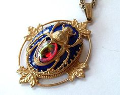 Image result for miriam haskell asian style pendant necklace