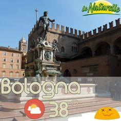Caldo caldo oggi a Bologna!
