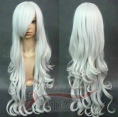 Hot Sell 9 Colors Heat Resistant Long Curly Cosplay Wavy Wig 80cm ★★★★ | eBay