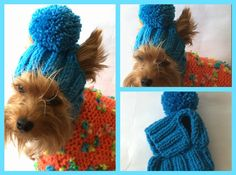 This model will teach you how to make delightful pets hat. size L- XL The average adult size of a cat or a dog with a width between the ears 2.4 in the widest part of the ear (the bottom of the ear), the width is not more than 2.5 (to ensure proper fit please measure your pet before ordering) Knit stitches needle.