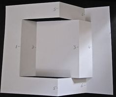 Tri Fold Card & directions