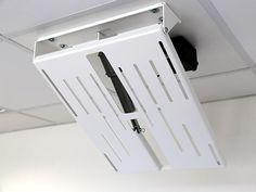 MonLines mMotion Flip elektrische TV Deckenhalterung, weiß Home, Image, Furniture, Bricolage, Tv Ceiling Mount, Hide Tv, Tv Media Stands, Hang In There, Full Bath
