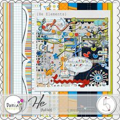 After Five Designs::Full Kits::He Kit by Dunia