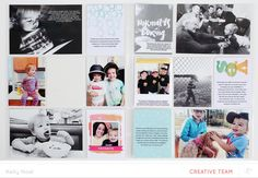 Project Life - February  by Kelly Noel at @studio_calico