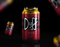 """Check out new work on my @Behance portfolio: """"Duff - Redesign"""" http://be.net/gallery/57776175/Duff-Redesign"""