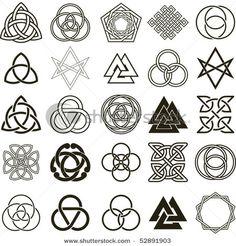 Gothic symbols stencils - Buscar con Google