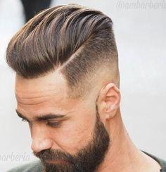 Pompadour with Disconnected Undercut - Undercut Fade Haircut