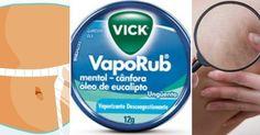 Velho conhecido para combater principalmente a congestão nasal, gripes e resfriados, o Vick Vaporub ...