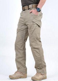 c291b3d0 Urban Tactical Pants IX9 Mens Military Combat Assault SWAT Leisure Army  Trousers 97% cotton 3% Spandex