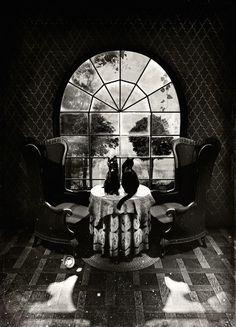 """A little memento mori for your Caturday. By Ali Gulec. Memento Mori, Image Illusion, Illusion Art, Illusion Kunst, Art Noir, 3d Art, Skull Illustration, Funny Illustration, Skull Art"