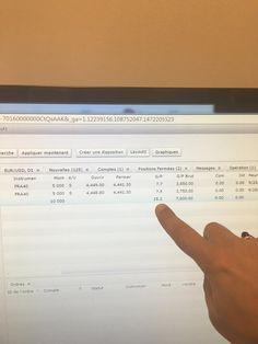 """Bravo David !  1ère journée de Trading après la formation """"Traders Ultimate Program"""" David réalise une performance de 15 points en 30 minutes ! Prochaine session à Barcelone du 18 au 25 Novembre 2016!"""