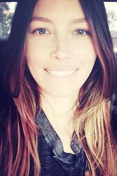 Jessica Biel does not need makeup to look beautiful.