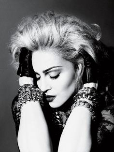 Madonna- American singer, songwriter, actress, dancer, entrepreneur and world's top-selling female recording artist of all time