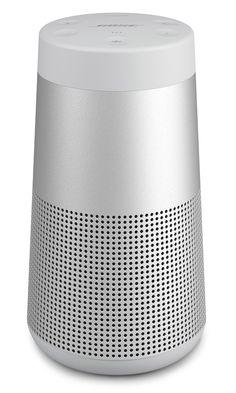 Bose Soundlink Revolve Bluetooth Speaker, Size One Size - Metallic Bose, Passive Radiator, Unisex Gifts, Bluetooth Speakers, Metallic, Space Place, Plays, Nordstrom, Electric Vehicle
