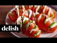 Best Caprese Tomatoes Recipe - How to Make Caprese Salad - Delish.com