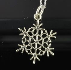 Stowe Vermont, Clean Gold Jewelry, Custom Jewelry, Snowflakes, White Gold, Jewels, Pendant, Personalized Jewelry, Snow Flakes