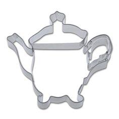 Cookie Cutter Tea Pot $9.75 http://www.fancyflours.com/product/tea-pot-cookie-cutter-stainless-steel/s